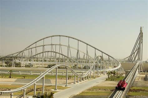 Fastest Roller Coaster In Ferrari World by Longest Roller Coasters Number 6 Formula Rossa 6562