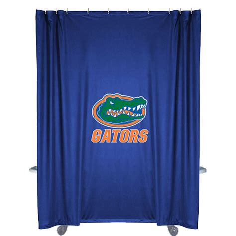 Ncaa Florida Gators Shower Curtain Football Bathtub