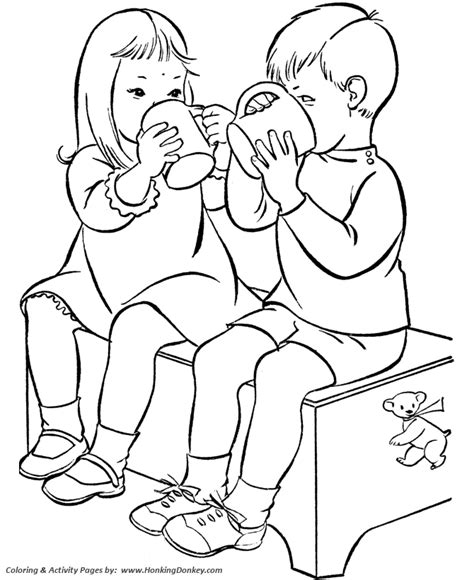birthday coloring pages free printable kids birthday
