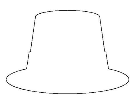 hat outline template the world s catalog of ideas