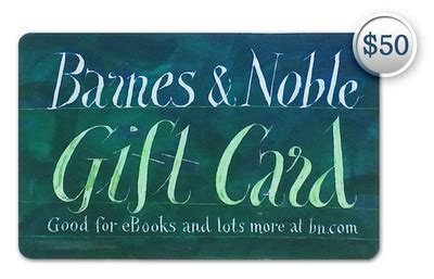 Barnes And Nobles Gift Card - win a free 50 barnes and noble gift card conservative book club