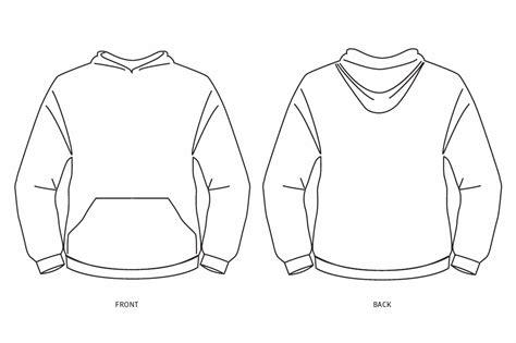 Design Template Pullover Hoodie Fairware Hoodie Design Template Free