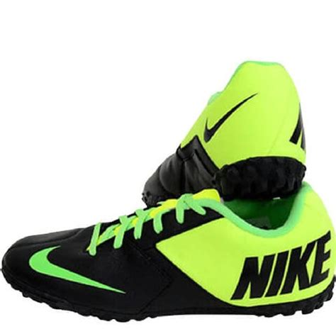 football shoes with studs nike indoor studs football shoes 580444 black green 5