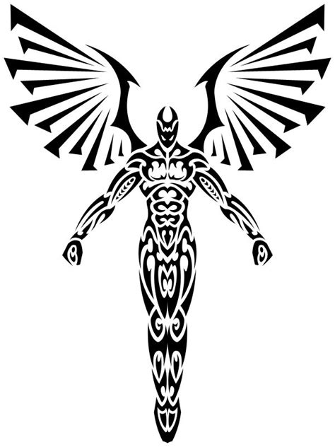 angel tattoo logo 328 best knowstencils images on pinterest silhouettes