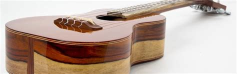 Affordable Handmade Guitars - how to make a custom luthier handmade guitar or ukulele by