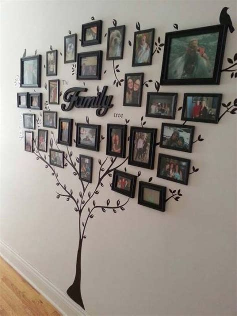 best 25 wall decorations ideas on family wall