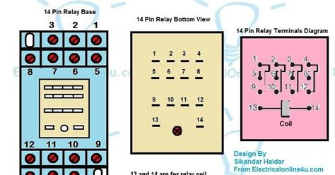 14 pin relay wiring diagram finder connection for
