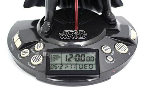star wars darth vader alarm clock radio gadgetsin
