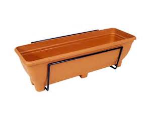 wall planter trough holder plain balcony wall planters