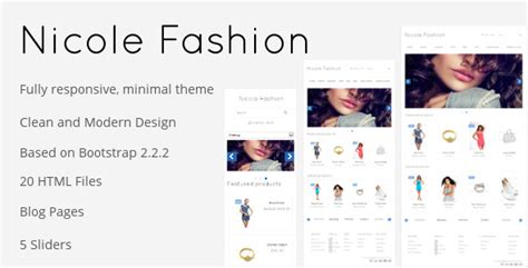 30 best ecommerce responsive html templates 2016