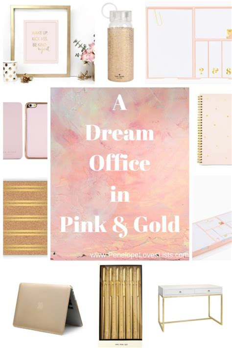 pink and gold desk accessories 17 best ideas about pink gold office on gold