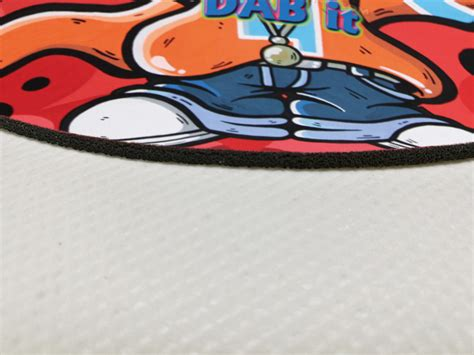 Dab Mats by Ten Inches Dab Mat Custom Mouse Pads X Raypad