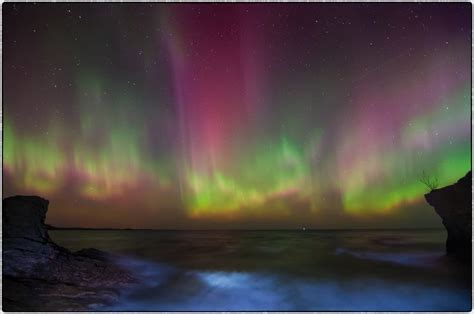 Northern Lights Michigan Forecast by Northern Lights Marquette Township Mi Places I