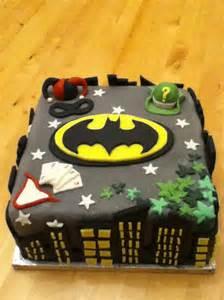 batman birthday cake decorations