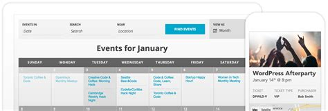 Events Calendar The Events Calendar