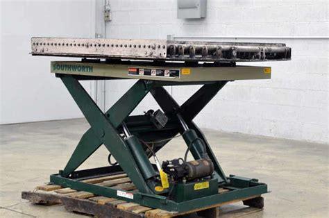 southworth ls4 36w ls series backsaver lift table boggs