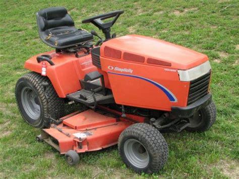 Simplicity Garden Tractors simplicity landlord dlx 20 lawn tractor