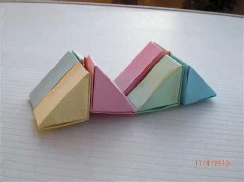 figuras geometricas origami origami figuras geom 233 tricas wmv youtube