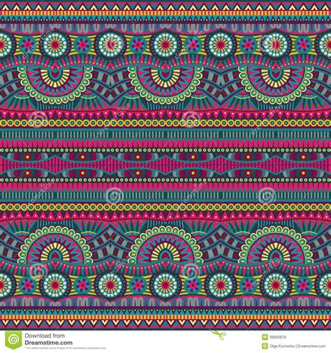 ethnic pattern background abstract vector tribal ethnic seamless pattern stock photo
