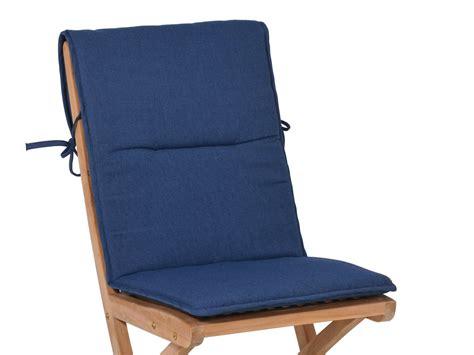 Gartenstuhl Holz Alu 1215 sitzauflage f 252 r gartenst 252 hle farbe blau gartenm 246 bel l 252 nse