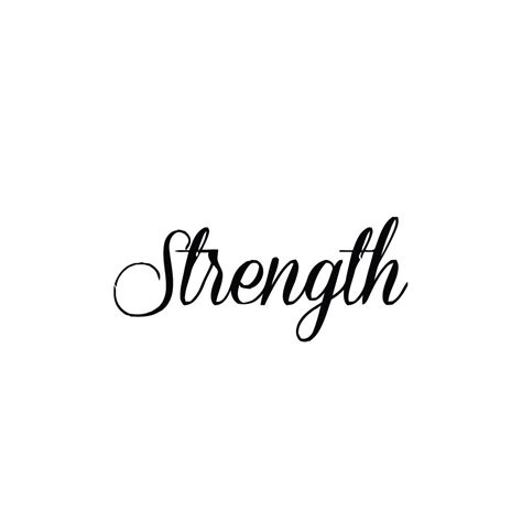 times new roman tattoo quotes strength temporary set of 2 by tattify on etsy