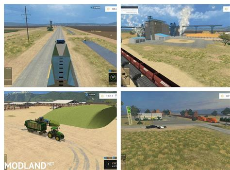 Ls California by California Central Valley Map V 1 1 Mod For Farming