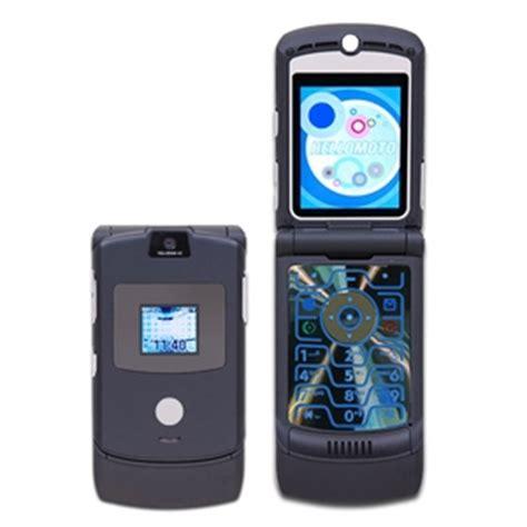 Hp Samsung V3 motorola v3 razr unlocked gsm cell phone black edition