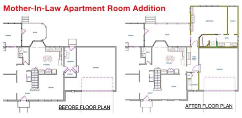 House Plans With Inlaw Apartments Apartment Floorplan House Plans 81828