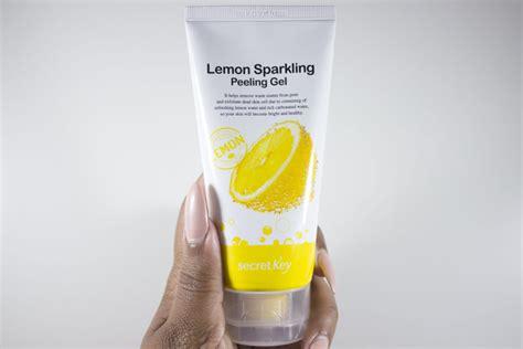 Special Secret Key Lemon Sparkling Peeling Gel 120 Ml Termurah gel tẩy tế b 224 o chết l 224 m trắng s 225 ng da chiết xuất chanh