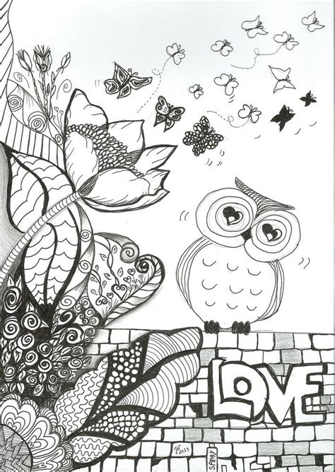 complex doodle drawing 805 best color pages zentangle doodle complex images on
