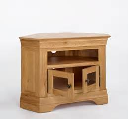 bordeaux oak corner tv cabinet oak furniture solutions