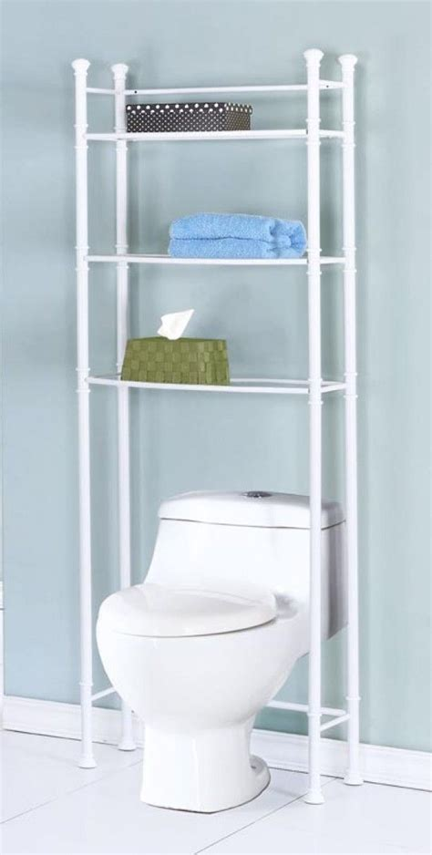 diy bathroom space saver i ve never considered building a shelf unit out of pvc