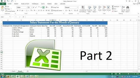 quickbooks tutorial urdu ms excel 2007 salary sheet formulas ms excel 2007 video