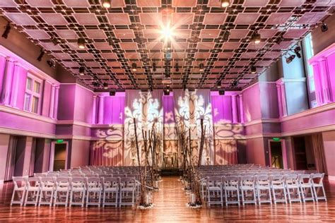intimate wedding venues in fort worth tx 2 bass performance venue fort worth tx weddingwire