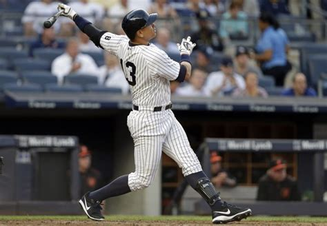 alex rodriguez s most significant home runs with the new
