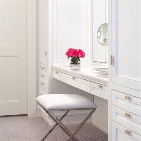 Vanity In Closet by Should I Place A Make Up Vanity In Walk In Closet Or