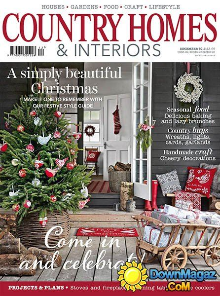 country home design magazines country homes interiors december 2013 187 download pdf magazines magazines commumity