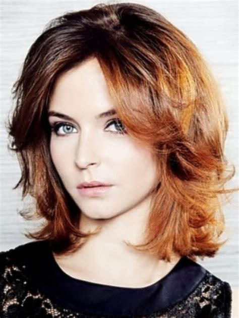 hair style for healthy face hairstyles for medium wavy hair round face short fashions