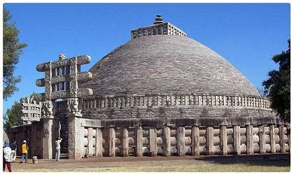 Sanchi Stupa Essay by Ten Architectural Wonders Of India