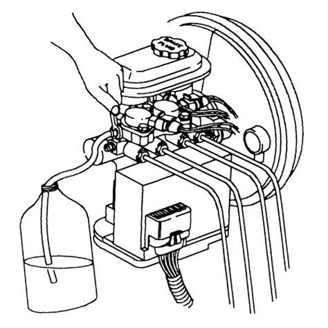 repair guides anti lock brake system bleeding the abs system autozone com repair guides anti lock brake system bleeding the abs system autozone com