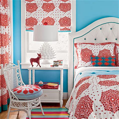 red and blue bedroom red and blue bedroom have fun with color coastal living