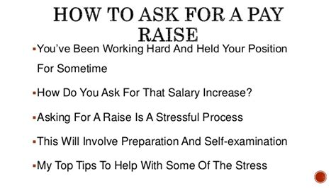 how to ask for a pay rise top tips for salary negotiation