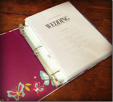 wedding planner binder wedding organization chicago wedding