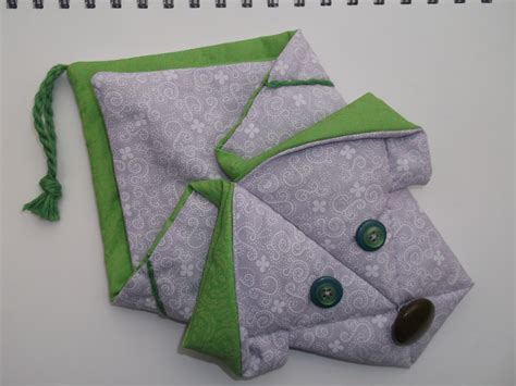 Fabric Origami - pillow pals now pocket pals fabric origami multi