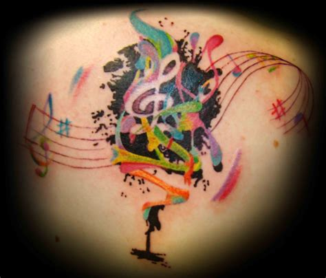 tattoos about music tatuagens musicais musical tattoos tattoos my