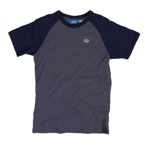 Tshirt Cb adidas originals raglan cb t shirt indigo mens t