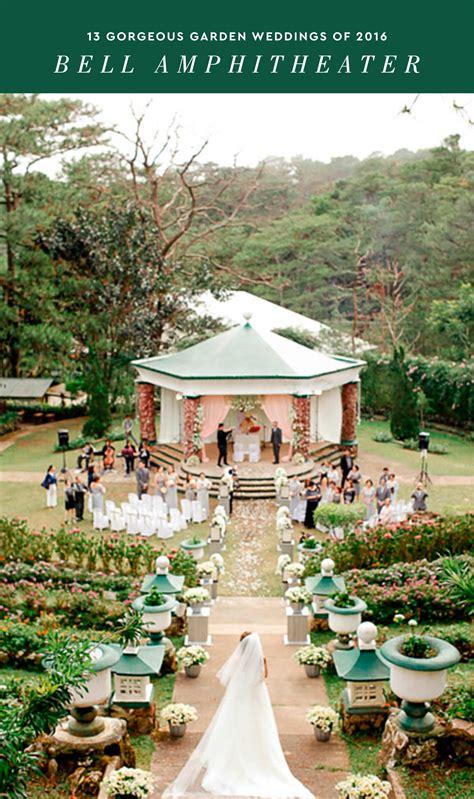 gorgeous garden weddings   philippines wedding blog