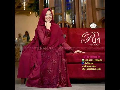 Gamis Dress Tuneeca Statistic T 0217078 gamis syari kombinasi brokat cantik anggun dan elegan dress pesta 2017 2018