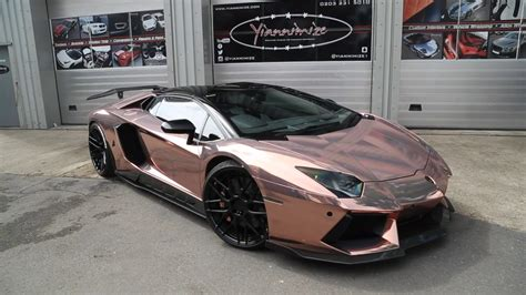 rose gold cars celebrity car color wrap from across the pond with