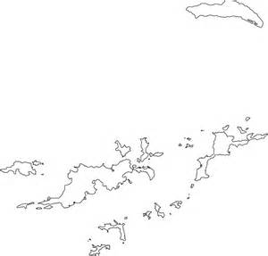 Us Islands Outline Map by Islands Outline Map By World Atlas
